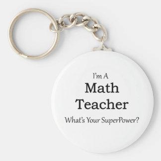 Chaveiro Professor de matemática
