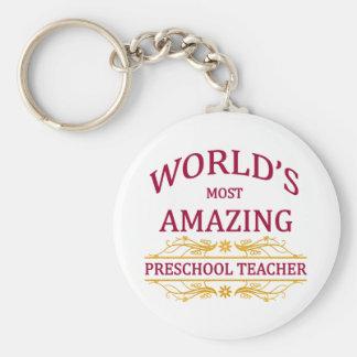 Chaveiro Professor pré-escolar