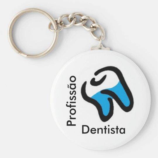 Chaveiro Profissão Dentista