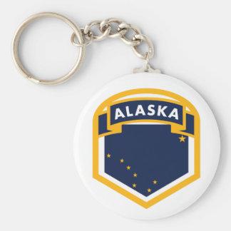 Chaveiro Protetor da bandeira do estado de Alaska AK
