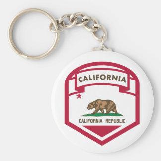Chaveiro Protetor da bandeira do estado de Califórnia
