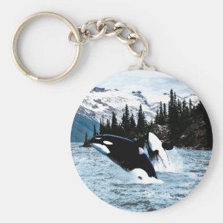 Chaveiro Pulando a orca