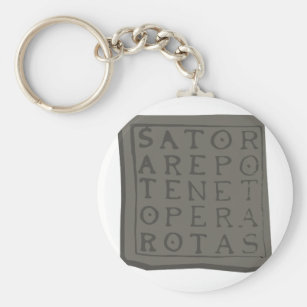 Chaveiro Quadrado de Sator