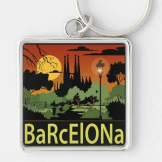 """Chaveiro quadrado superior de Barcelona (2,00"""")"""