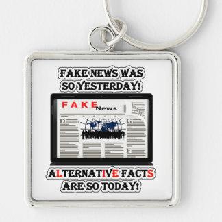 Chaveiro quadrado superior falsificado dos fatos