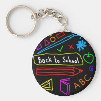 Chaveiro Quadro-negro de volta à escola