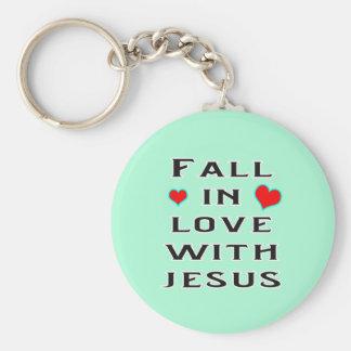 Chaveiro Queda no amor com Jesus