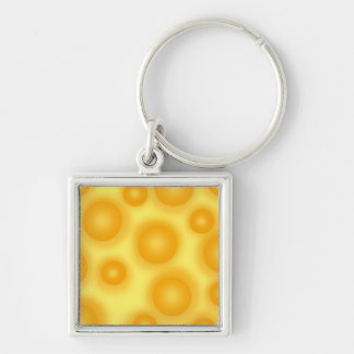 Chaveiro Queijo suíço amarelo