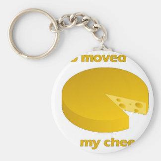 Chaveiro Quem moveu o queijo