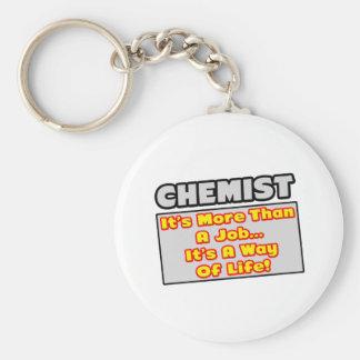 Chaveiro Químico… mais do que o trabalho, modo de vida