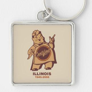 Chaveiro Quitandeiros certificados de Illinois