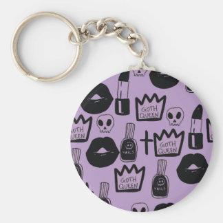 Chaveiro rainha gotica purpura