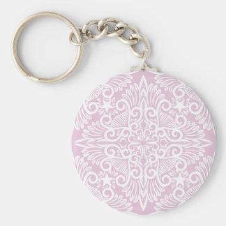 Chaveiro Raiz ideal rosa pálido