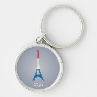 "Chaveiro redondo superior pequeno de Paris (1,44"")"