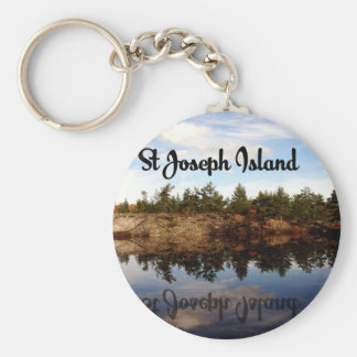 Chaveiro Reflexões da ilha de St Joseph
