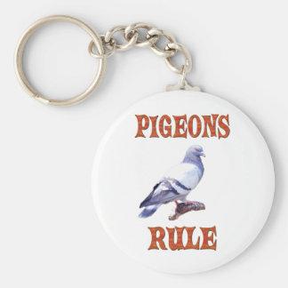 Chaveiro Regra dos pombos