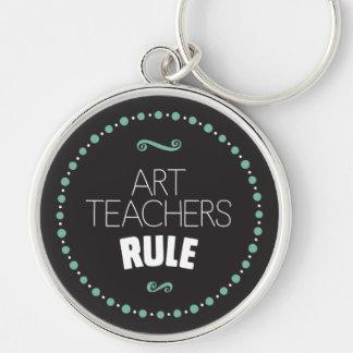 Chaveiro Regra dos professores de arte - preto