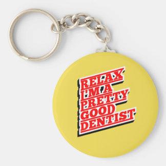 Chaveiro Relaxe-me são um relativamente bom dentista