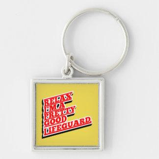 Chaveiro Relaxe-me são um relativamente bom lifeguard
