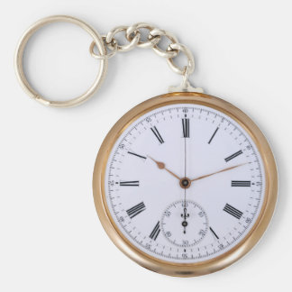 Chaveiro Relógio de bolso velho da antiguidade do pulso de