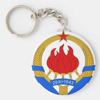 Chaveiro República federal socialista do emblema de