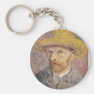 Chaveiro Retrato de auto de Van Gogh