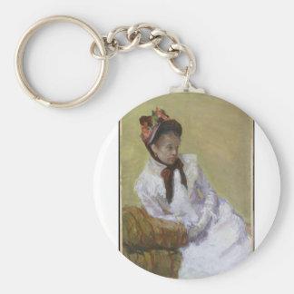 Chaveiro Retrato do artista - Mary Cassatt