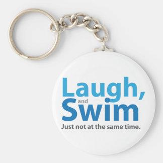 Chaveiro Riso e natação… mas não ao mesmo tempo