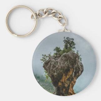 Chaveiro rocha equilibrada corrmoída