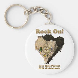 Chaveiro ROCHA SOBRE! A caminhada do amor protege nossos