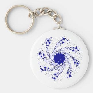 Chaveiro Roda azul do Pin