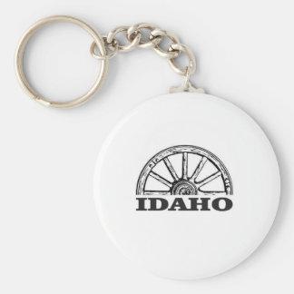 Chaveiro Roda de vagão de Idaho