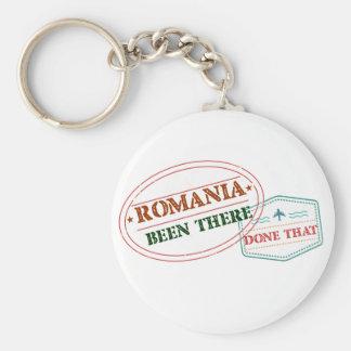 Chaveiro Romania feito lá isso