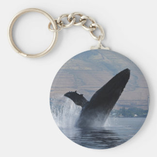Chaveiro rompimento da baleia de humpback