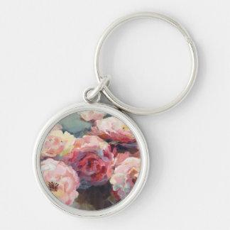 Chaveiro Rosas do rosa selvagem