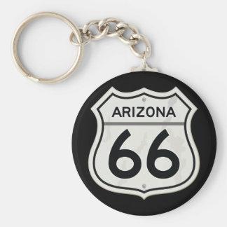 Chaveiro Rota histórica 66 dos E.U. da arizona