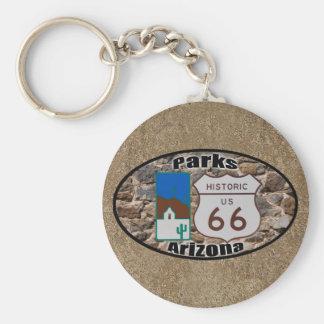 Chaveiro Rota histórica 66~Parks dos E.U., arizona