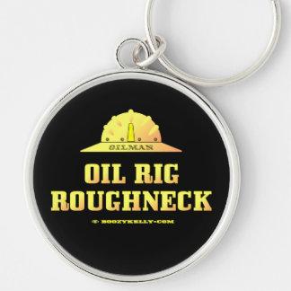 Chaveiro Roughneck da plataforma petrolífera, Oilman,