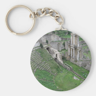Chaveiro Ruínas de um anfiteatro romano antigo