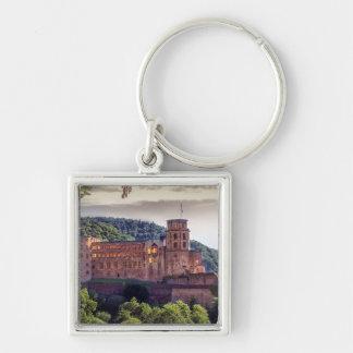 Chaveiro Ruínas famosas do castelo, Heidelberg, Alemanha