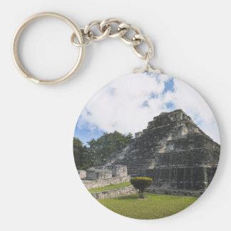 Chaveiro Ruínas maias de Chacchoben do Maya da costela