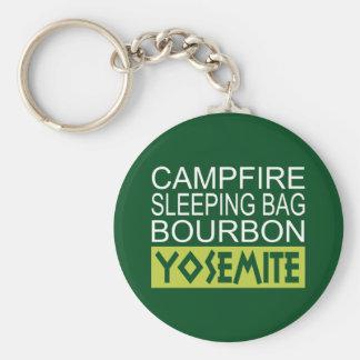 Chaveiro Saco de sono Bourbon da fogueira Yosemite