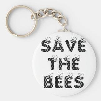 Chaveiro Salvar as abelhas brancas