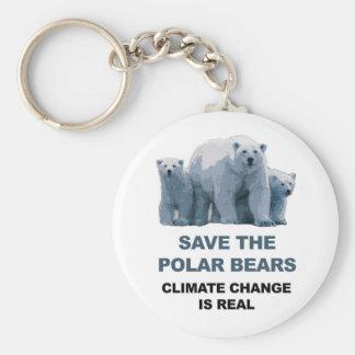 Chaveiro Salvar os ursos polares