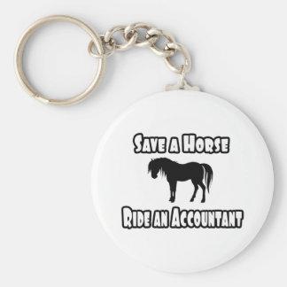 Chaveiro Salvar um cavalo, monte um contador