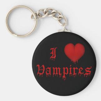 Chaveiro Sangue do gotejamento do KRW eu amo vampiros