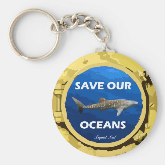 Chaveiro Save Our Oceans - Keychains