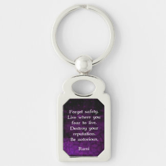 Chaveiro Seja citações inspiradas notórias de Rumi