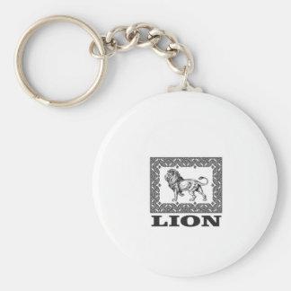 Chaveiro selo do leão
