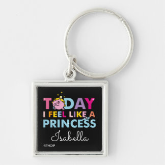 Chaveiro Senhorita pequena princesa | que eu sinto como uma
